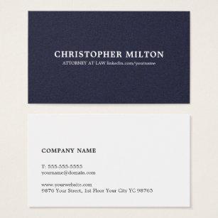 Consultant business cards templates zazzle minimalist elegant texture blue consultant business card colourmoves Images