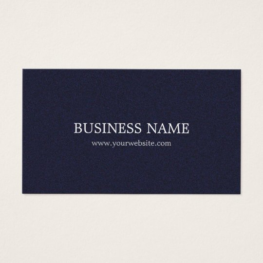 Minimalist Elegant Textured Blue Consultant Business Card