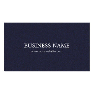 Minimalist Elegant Textured Blue Consultant Double-Sided Standard Business Cards (Pack Of 100)