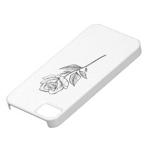 Minimalist Garden iPhone SE/5/5s Case
