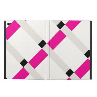 Minimalist Geo Color Blocks Modern Art iPad Case