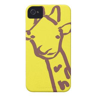 minimalist Giraffe Drawing Case-Mate iPhone 4 Case