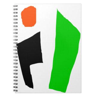 Minimalist Home Organizing Spiral Notebook