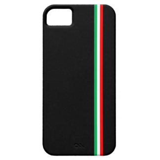 Minimalist Italian Flag Design iPhone SE/5/5s Case
