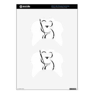 Minimalist Koala Xbox 360 Controller Decal