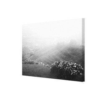 Minimalist landscape canvas print