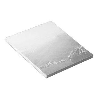 Minimalist landscape notepad