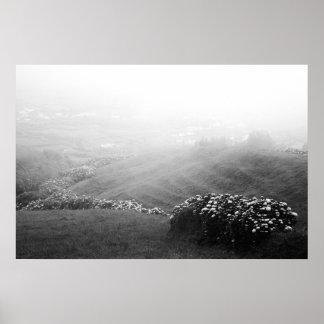 Minimalist landscape print