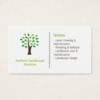Garden design business cards interior design garden services business cards templates zazzle reheart Images