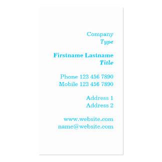 Minimalist Latitude and Longitude Business Card