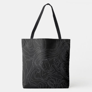 Minimalist Line Design Tote Bag