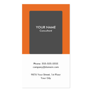 Minimalist Modern Consultant Business Card
