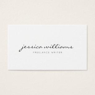 Freelance business cards templates zazzle minimalist modern professional business card flashek Gallery