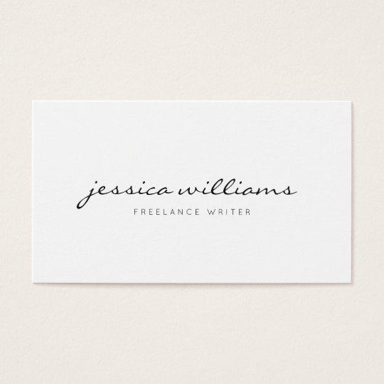 Minimalist modern professional business card zazzle minimalist modern professional business card reheart Gallery