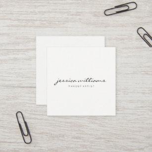Minimalist business cards templates zazzle minimalist modern professional square ii square business card reheart Choice Image