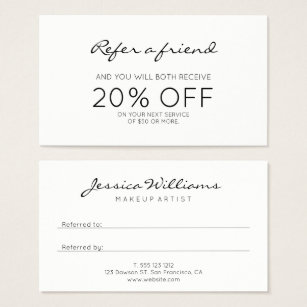 Referral card template free best two weeks notice template unique of referral card templates free colourmoves