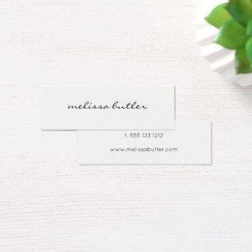 crispinstore Minimalist Modern Stylish Mini Business Card