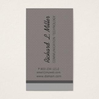Minimalist Neutral Corporate Custom Business Card