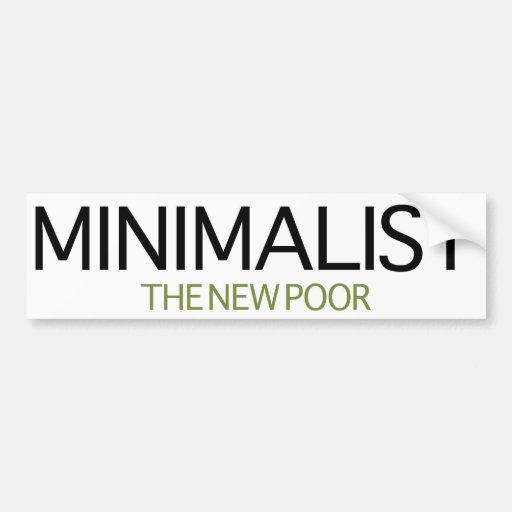 Minimalist Pegatina Para Auto