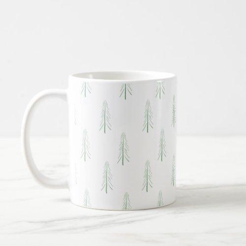 Minimalist Pines Coffee Mug