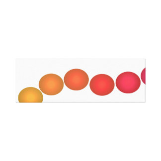 Minimalist Pop Art Spectrum 3d Decor Canvas Art Stretched Canvas Print