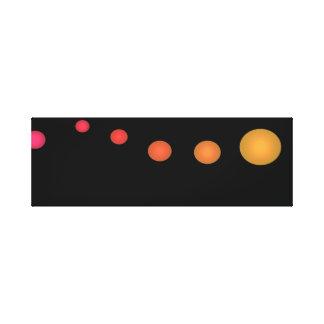 Minimalist Pop Art Spectrum 3d Decor Canvas Art 3 Gallery Wrapped Canvas