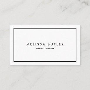 Minimalist Business Cards Zazzle
