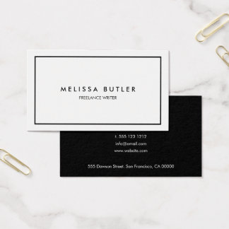 Business cards business card printing zazzle professional minimal snow and ice business cards reheart Gallery