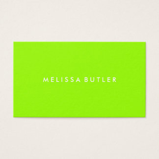 Lime Green Business Cards & Templates | Zazzle