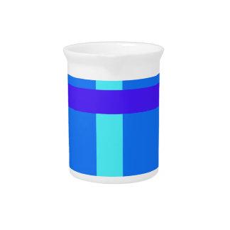 Minimalist Royal Blue Drink Pitchers