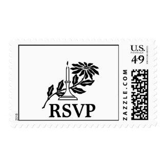 Minimalist RSVP Stamps