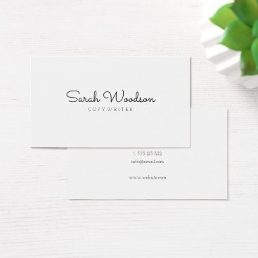 crispinstore Minimalist Stylish Business Card