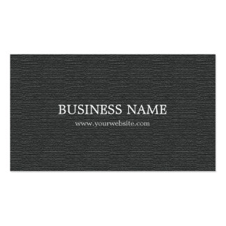 Minimalist Textured Grey Attorney Consultant Double-Sided Standard Business Cards (Pack Of 100)