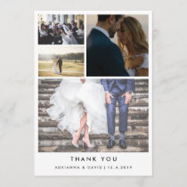 Minimalist Thank You | Four Couple Photo Wedding