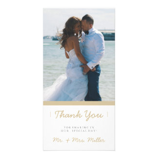 Minimalist Thank You | WEDDINGS Card