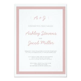 Minimalist Wedding Invitations | WEDDINGS