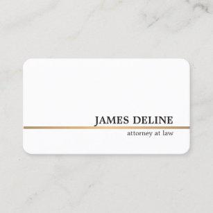 Attorney business cards 3300 attorney business card templates minimalist white copper line attorney business card colourmoves