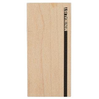 Minimalist Wood Flash Drive
