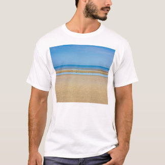 Minimalistic Beach and Shore Photograph T-Shirt