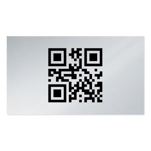 Minimalistic business card, platinum plantillas de tarjetas de visita