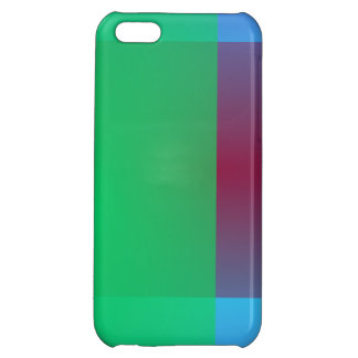 Minimalistic Crossing Colors Cover For iPhone 5C