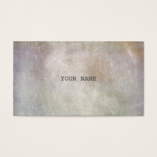 Minimalistic Grungy Cement Marble Vip Business Business Card