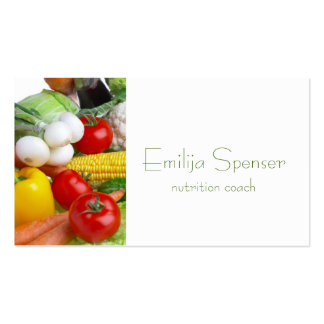Minimalistic Healthy Life/Dietitian Card Business Card