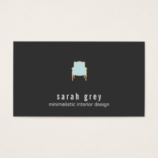 Minimalistic Interior Design Business Card