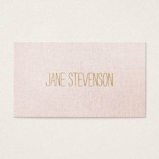 Babysitting business cards templates zazzle minimalistic is sweet light pink linen look business card reheart Image collections