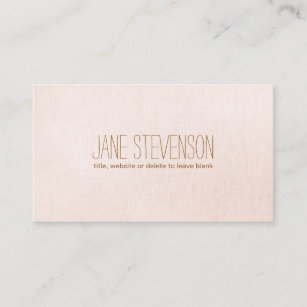 Sweet business cards templates zazzle minimalistic is sweet light pink linen look business card colourmoves