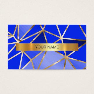 Minimalistic Marine Cobalt Blue Vip Business Card