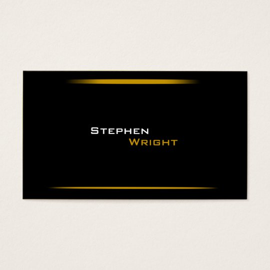 Minimalistic Modern Gradient Lines Business Card