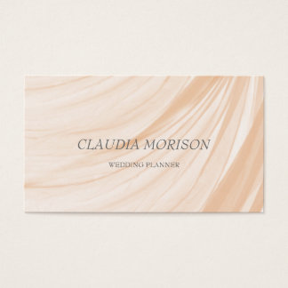 Minimalistic Modern Wedding Planner Business Card