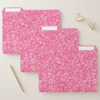 Minimalistic pink faux glitter texture
